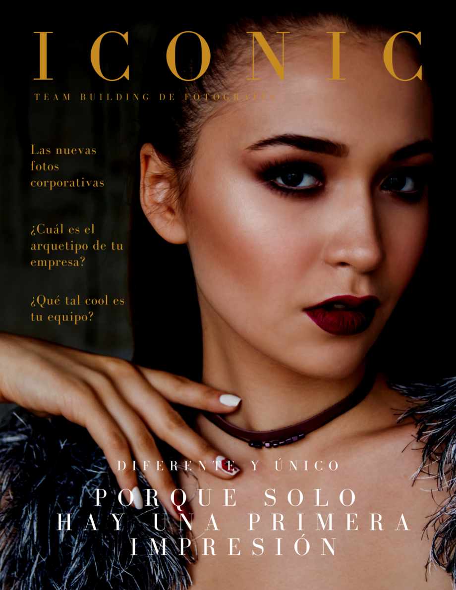 Female Photo Fashion Magazine Cover